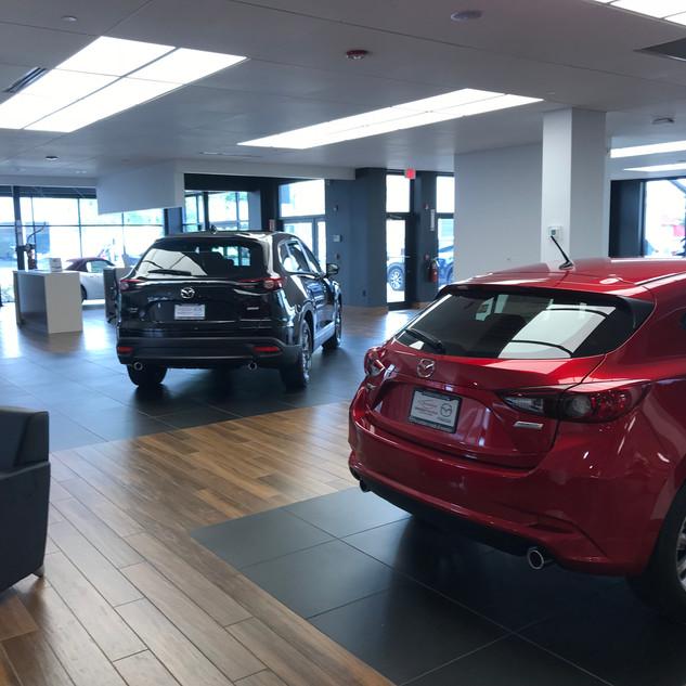 Mazda Sales Floor