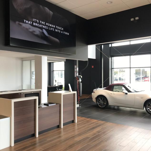 Mazda Reception