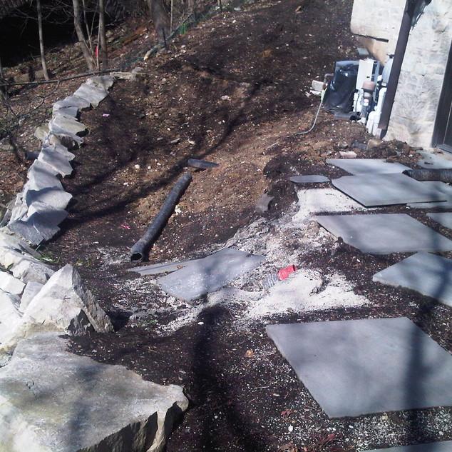 Side Yard damage