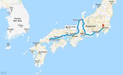 Itinerario Giappone