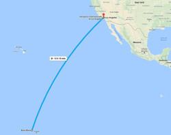 Volo Los Angeles - Bora Bora
