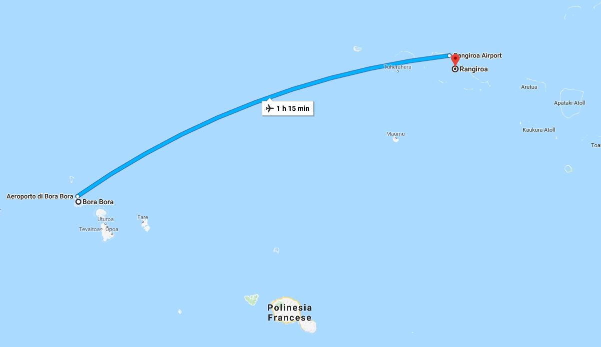 Bora Bora - Rangiroa