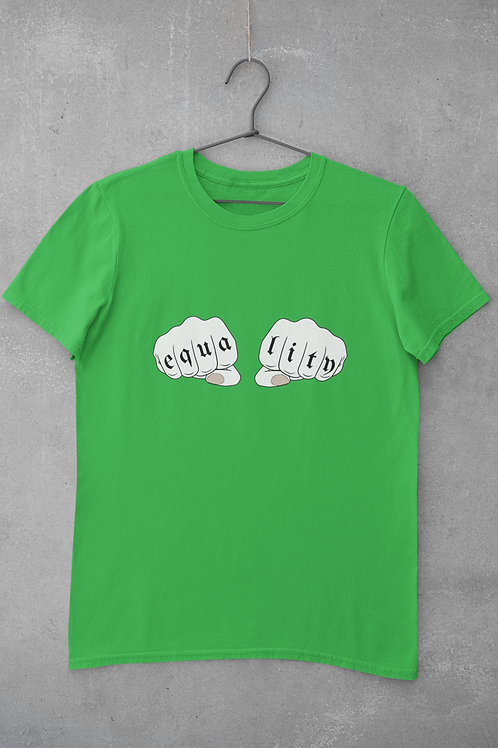 Equality T-shirt in Green