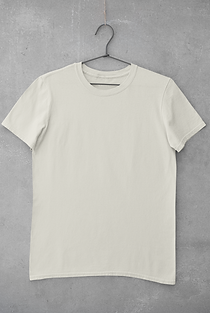 mockup-of-a-basic-tee-hanging-on-a-concr