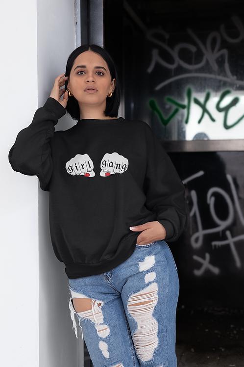 Girl Gang Sweatshirt in Black
