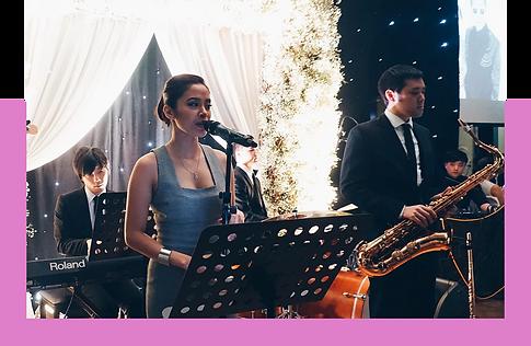 香港婚禮樂隊現場音樂爵士歌手
