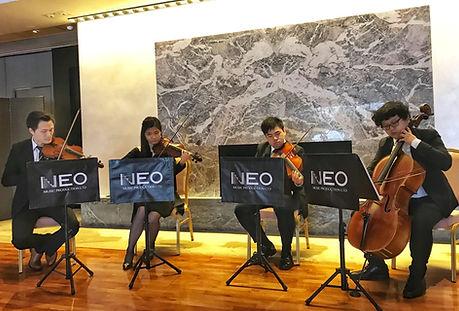 Neo Music Production Hong Kong Classical String Quartet Strings Violin