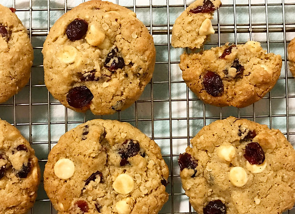 Oat, Cranberry & White Chocolate Cookie Mix