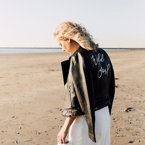gepersonaliseerd jacket (faux leder)