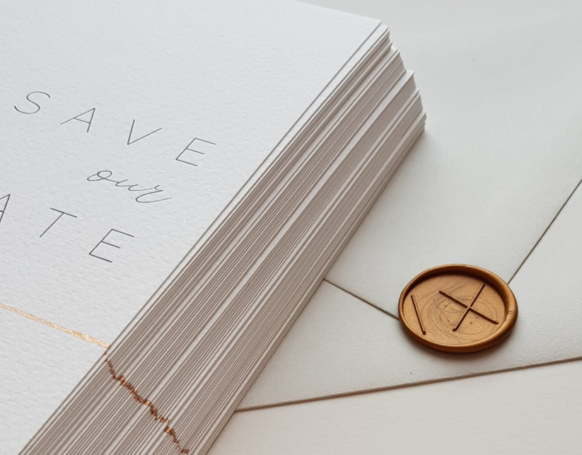 minimalistische uitnodiging