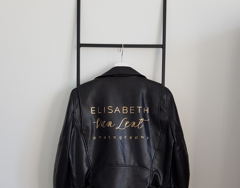 gepersonaliseerd jasje met logo
