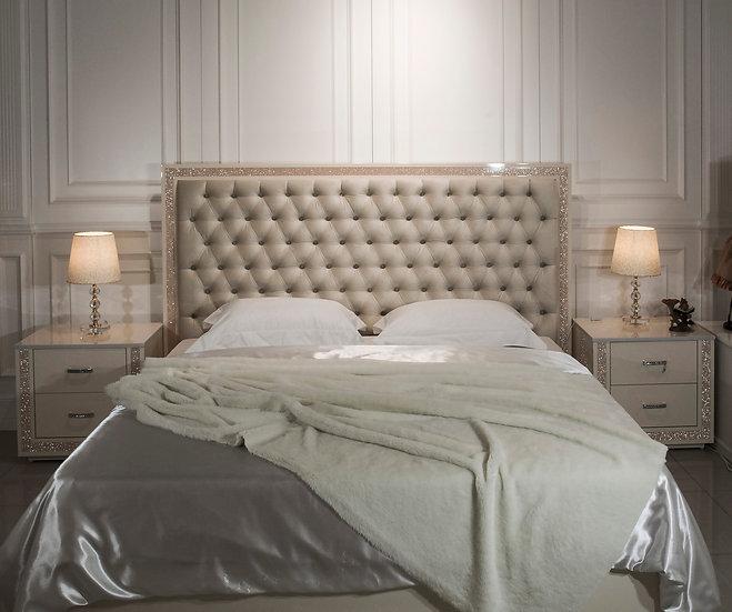 Кровать CRISTAL beige
