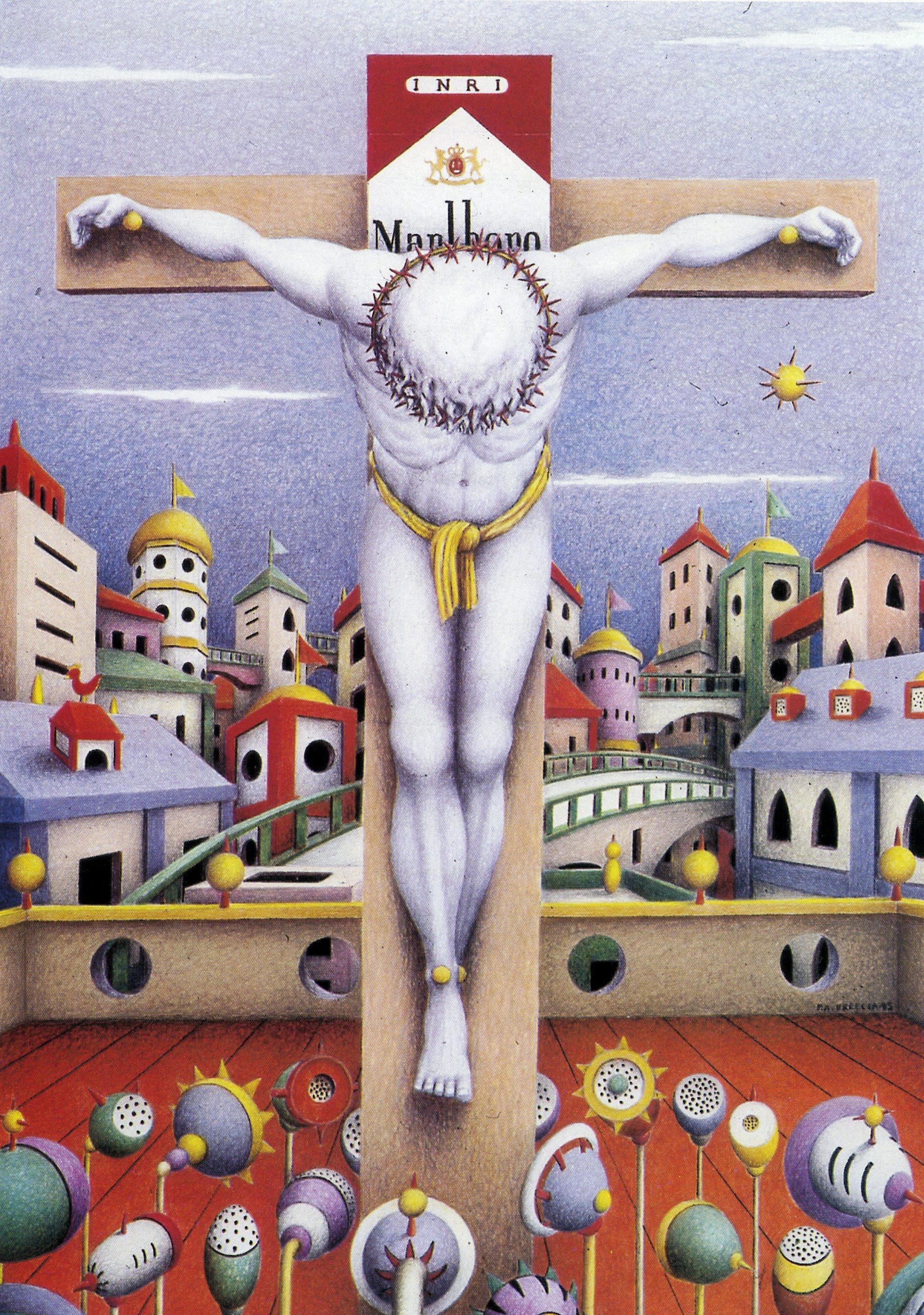 Crocifissione sponsorizzata