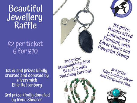 Barking Mad Raffle: Gorgeous jewellery to be won