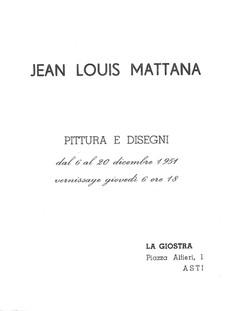PERSONALE Galleria La Giostra 19510001_0