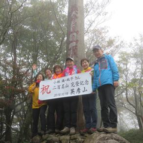 個人山行 雲仙普賢岳(1,359m)&英彦山(1,200m)/九州