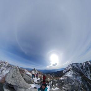個人山行 地蔵岳(鳳凰三山) 2764m