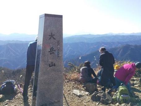 個人山行 大岳山(奥多摩・1267m)
