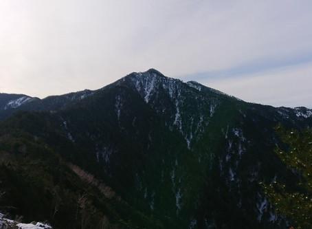 個人山行 池口岳(2392m)/長野県