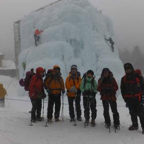 冬合宿八ヶ岳(赤岳鉱泉~硫黄岳撤退)