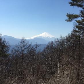 3月の月例山行                                                           甲州扇山(山梨100名山 1137.8m)