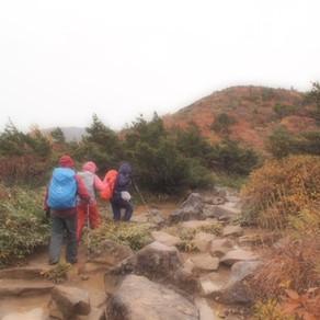 個人山行  紅葉の百名山安達太良山ハイキング
