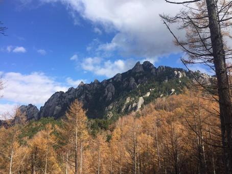 月例&創立山行:奥秩父 瑞牆山(2230m)・金峰山(2599m)
