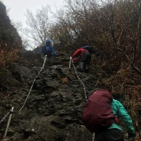 個人山行 第24期ハイキングリーダー学校修行山行