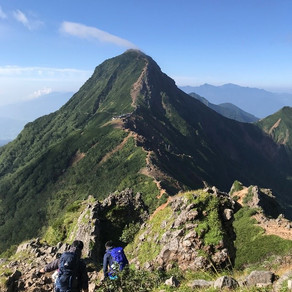 個人山行 赤岳(2,899m)~横岳(2,830m)~硫黄岳(2,554m)