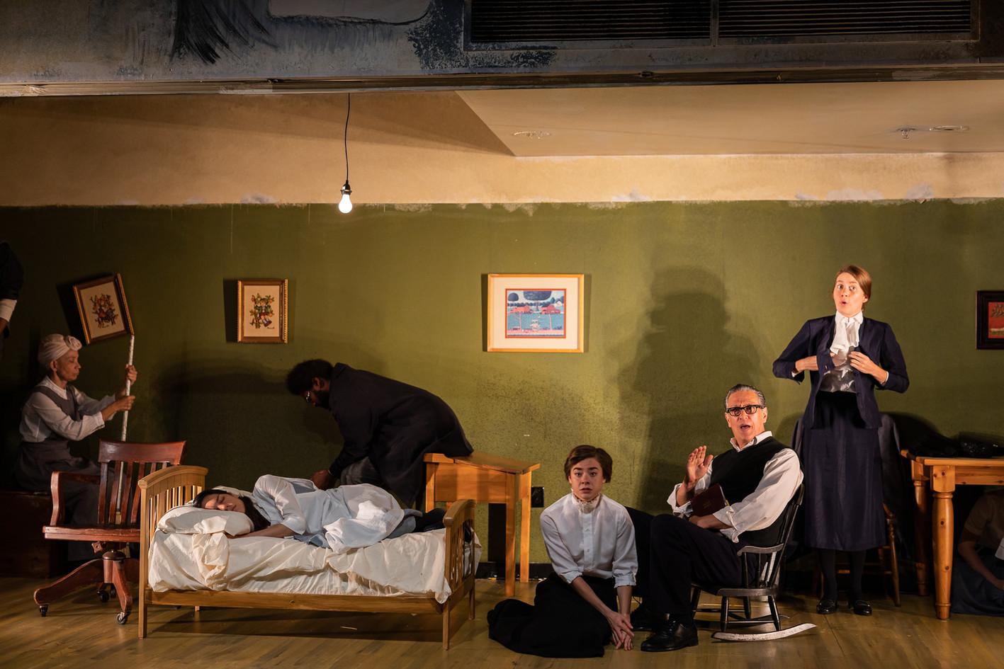The Crucible: BEDLAM and The Nora Theatre Company, Cambridge, MA  (photo: Niles Scott Studios)