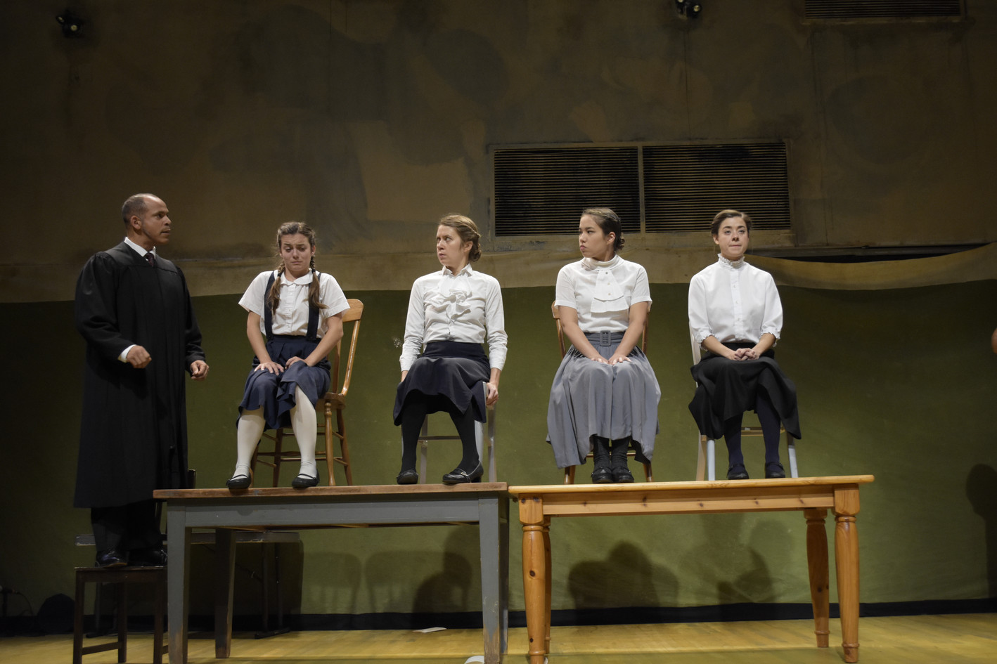 The Crucible: BEDLAM and The Nora Theatre Company, Cambridge, MA  (photo: Niles Scott Studios)
