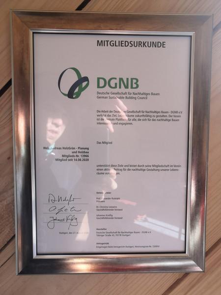 DGNB Mitglied