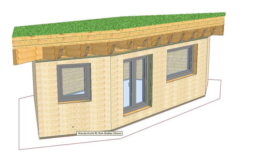 3D Modell Tiny House Ob