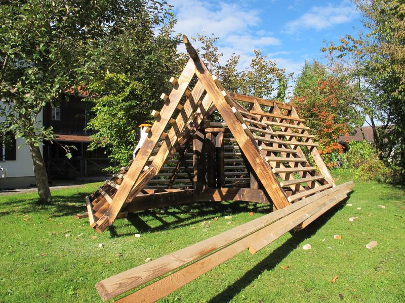 Dachkonstruktion Pavillion