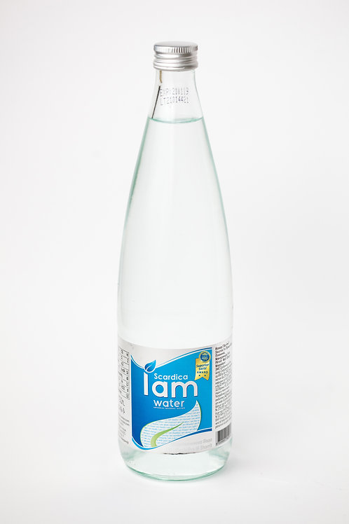 IAM WATER SCARDICA® 750ml, Natural Artesian Water, Glass Bottles (Pack of 12)