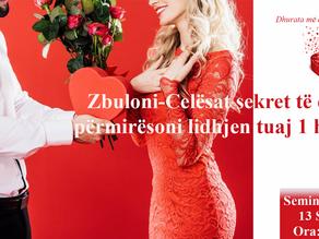 Seminar-Zbuloni-Celësat sekret të dashurisë, përmirësoni lidhjen tuaj 1 herë e mirë!
