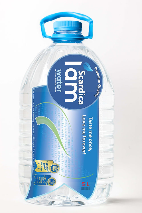 IAM WATER SCARDICA® , 5L Natural Artesian Water