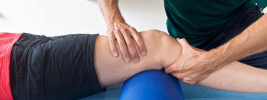 Knee Pain and knee massage