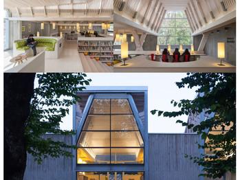 Construcción postsísmica y biblioteca: dos proyectos