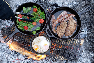 Lodge cast iron classic skillets outdoor