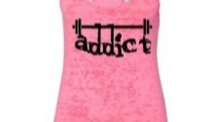 "Fit Body AZ Throwback Edition! ""Addict"" Tank in Neon Pink"