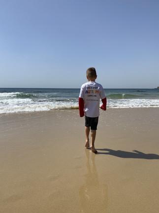 Beach fun.