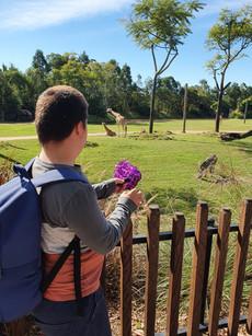 At day exploring Australia Zoo!