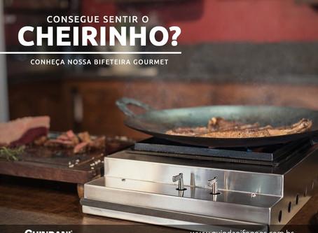 Conheça nossa Bifeteira Gourmet!