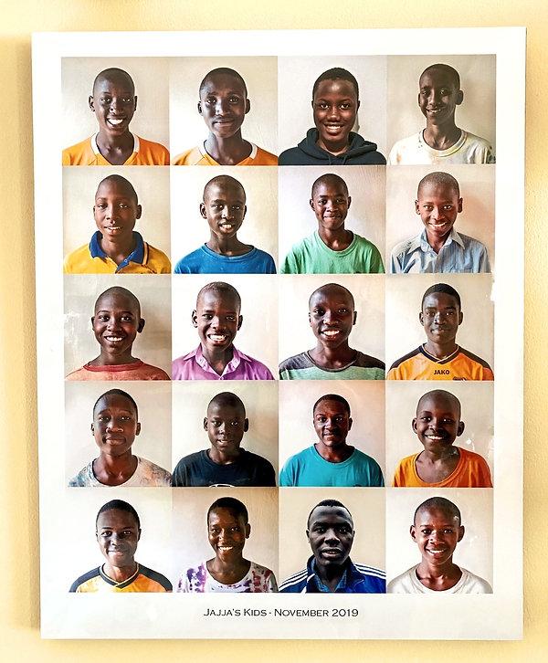 Portraits of each child, November 2019