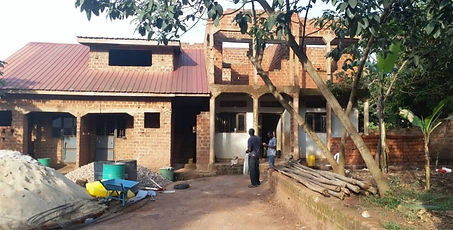 New home before constuction