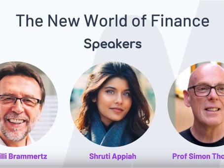The New World of Finance (Marlowe webinar with Dr. Willi Brammertz )