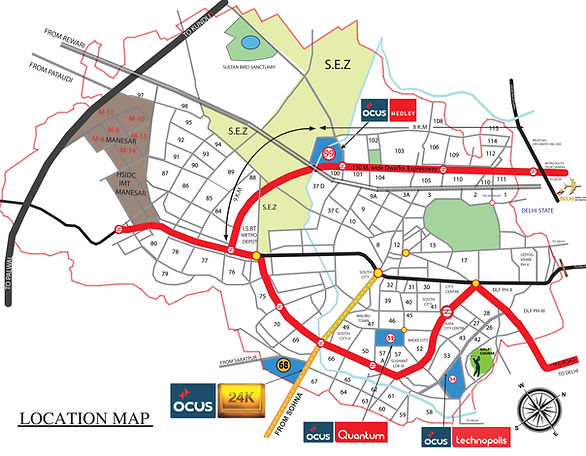 Ocus 24K map