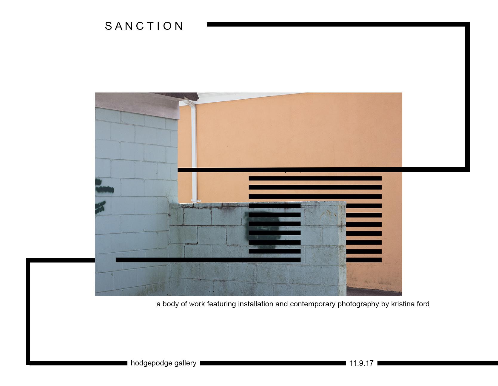 Sanction Announcement
