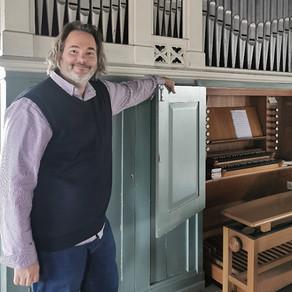 Spendenaufruf für Orgel